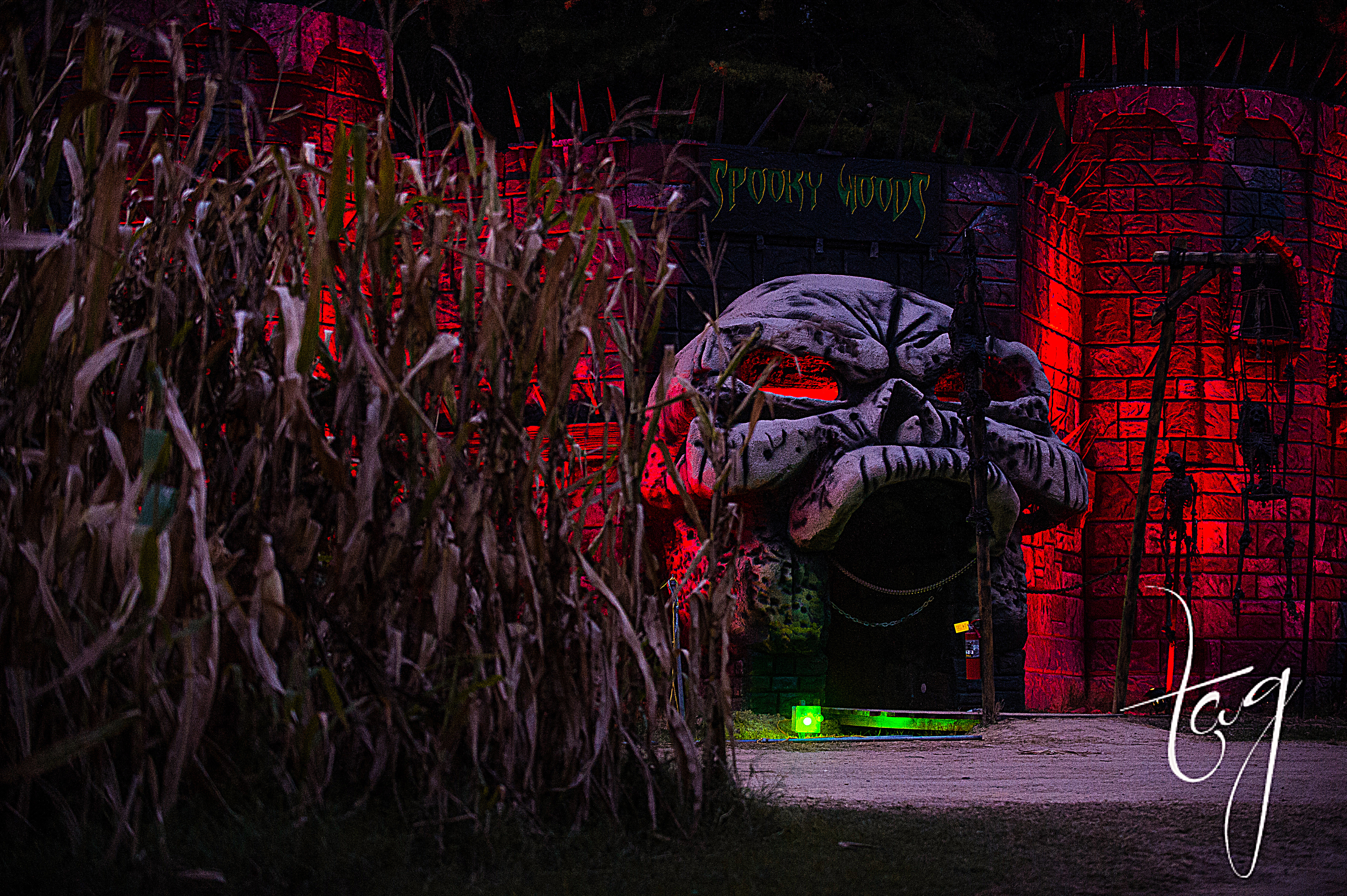 Subway - Picture of Kersey Valley Spooky Woods, Archdale - TripAdvisor